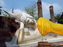 Лежа статуя Будды Стоковые Изображения RF