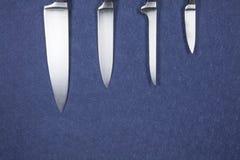 Лезвия ножа серебряные Стоковая Фотография RF