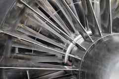 Лезвия реактивного двигателя turbo Стоковая Фотография
