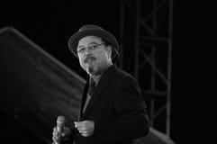 Лезвия Rubén певицы стоковое фото rf