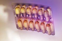 Лекарства или витамины Стоковые Фотографии RF