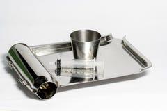 Лекарства оборудования измеряя стоковое фото rf