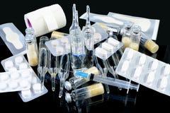 Лекарства для обработки больных Стоковые Изображения RF