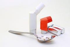 Лекарство астмы Стоковые Фотографии RF