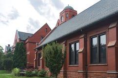 Лекционные залы ориентира на кампусе Milwaukee стоковое изображение rf
