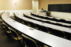 Лекционный зал в университете Стоковая Фотография
