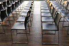 Лекционный зал на конференц-центре без людей Стоковое Изображение