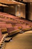 Лекционный зал с деревянными местами Стоковое Изображение RF