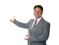 лекция по бизнесмена Стоковое Изображение