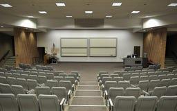 лекция по залы Стоковое Фото