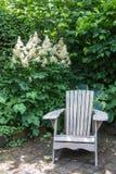 Ленивое ouside стула стоковые фотографии rf
