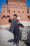 Ленин в Туле Кремле Стоковое фото RF