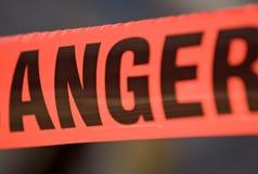 лента барьера гнева Стоковое Изображение RF