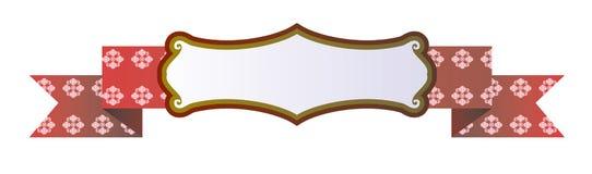 Лента вектора Стоковые Изображения