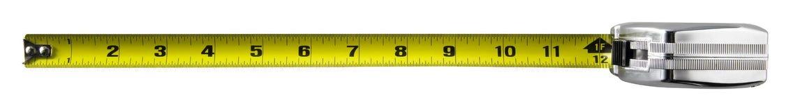 лента измерения Стоковая Фотография