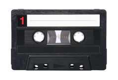 лента изолированная аудио ретро Стоковое фото RF