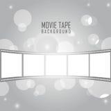 лента кино иллюстрация вектора