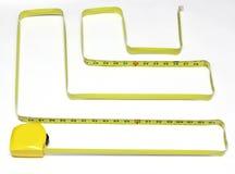 лента лабиринта измеряя Стоковое Фото