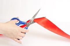 лента ножниц стоковое фото rf