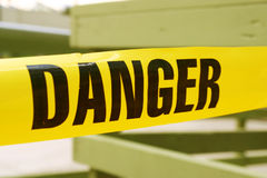 лента опасности Стоковая Фотография RF