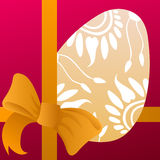 Лента пасхального яйца и апельсина бесплатная иллюстрация