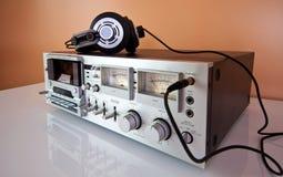 лента рекордера игрока палубы кассеты стерео Стоковое Изображение