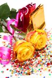 лента роз Стоковое Фото