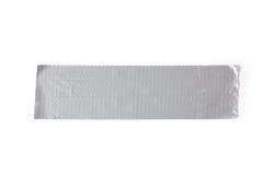 лента серебра трубопровода Стоковое Изображение RF