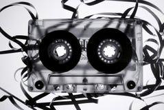 лента сломленного cassete старая Стоковые Изображения RF