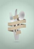 Лента столового прибора Стоковое фото RF