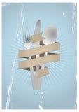 Лента столового прибора Стоковое Изображение RF