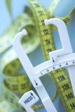 Лента тучного крумциркуля измеряя Стоковое Изображение