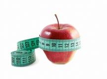 лента яблока измеряя стоковое фото rf