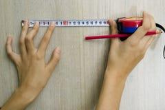 лента hans измеряя Стоковые Изображения