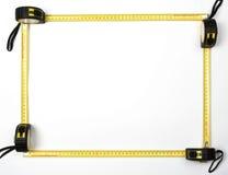 ленты измерения рамки Стоковое Изображение