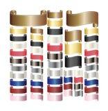 ленты переченя тесемок Стоковое Изображение RF