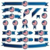 Ленты США иллюстрация штока