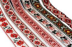 Ленты с орнаментом Стоковая Фотография