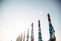 Ленты шамана на Lake Baikal Стоковая Фотография RF