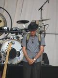 Леонард Cohen живет в Лукке, 9-ое июля 2013 Стоковое Изображение RF