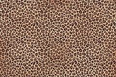 Леопард запятнал текстуру коричневого меха горизонтальную r стоковые фотографии rf