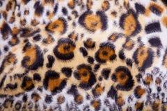 леопард шерсти предпосылки Стоковое Изображение RF