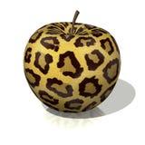 леопард яблока иллюстрация вектора