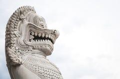 Лео в грандиозном дворце Стоковая Фотография RF