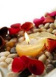 лепестки свечки Стоковое Изображение RF