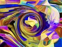 Лепестки фрагментации Стоковое Изображение