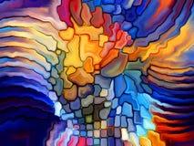 Лепестки цветного стекла Стоковое Изображение RF