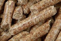 Лепешки опилк деревянные Стоковое Изображение RF
