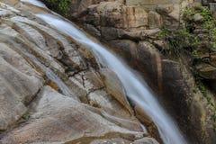 Леса, водопады и потоки, который нужно ослабить стоковая фотография rf