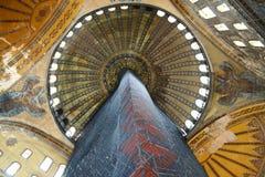 Леса в Hagia Sophia стоковые изображения rf